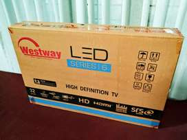 """UNBOXED BRAND NEW 32"""" LED TV"""