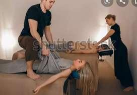 Spa therapists job