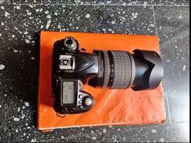 Nikon D90 zoom lence