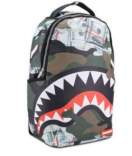 TAS BACKPACK SPRAYGROUND MONEY SHARK