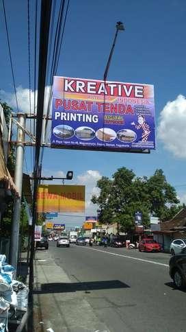 Pabrik Tenda Terlengkap dan Digital Printing Outdoor