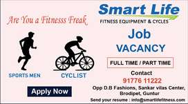 Hiring a Cyclist and Sports Men