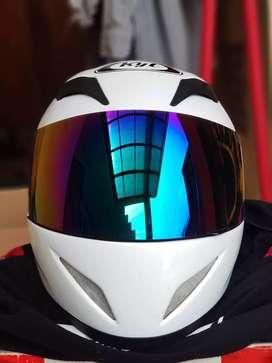 Helm Full Face  KYT C4 Tech Solid