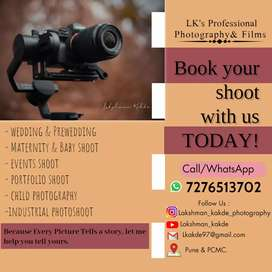 All Types Of Professional Photography & Films