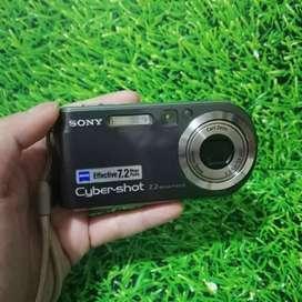 Kamera Digital Sony DSC P200 Mulus Lengkap Dus dll