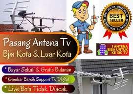 Antena tv 19+27 channel bersih