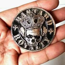 Enamel Metal Pin Badge Bastard Royalty