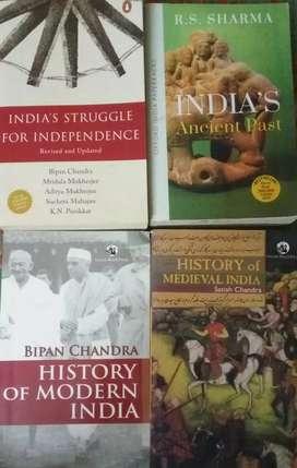 Upsc history books