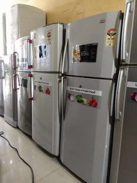 Pay only 8500 RS and get double door fridge with WARRANTY