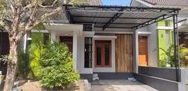 Dikontrakkan/disewa rumah cluster puri gardenia bantul yogya dekat UMY