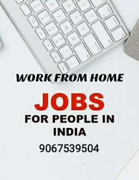 I m offering a job data typing works