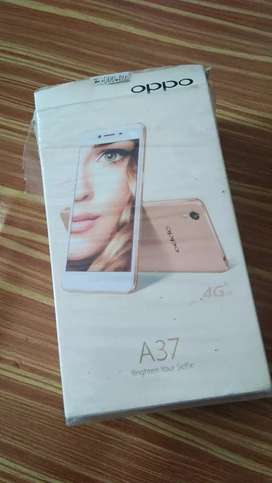 Oppo A37 + charger + handset