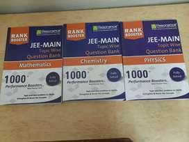 Resonance JEE MAINS & ADVANCED practise set brand new