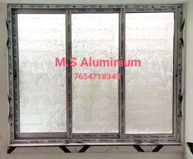 All kinds aluminium work