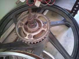honda shine alloy wheels