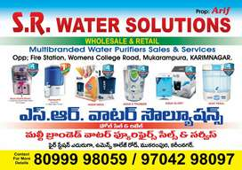S.R WATER SOLUTION'S