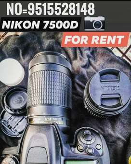 Nikon 7500 with stand for rent 500 for half day