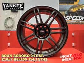 Velg Mobil Avanza, Velg kijang, Velg Vios dll, Velg Ring 16 HSR Wheel
