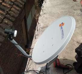 Antena Parabola Mini bebas bulanan mijen