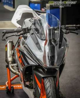 KTM RC 390,200 ORGINAL POWERPARTS BUBBLE VISORS FOR SALE