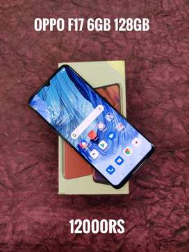 Oppo f17 6gb 128gb excellent condition lowest price Ever at safezone