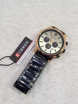 Curren chronograph watches new