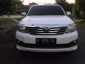 Toyota Fortuner 2.5 G tahun 2012 automatic