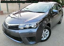 Toyota Corolla on very very very easy monthly installments