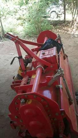 Tractor rotavetor