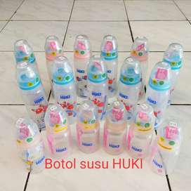 Jual Murah Borongan Botol Susu HUKI Ukuran: 120ml dan 240ml