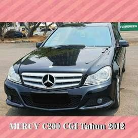 Mercedes Benz C200 CGI at Tahun 2012 km40rb