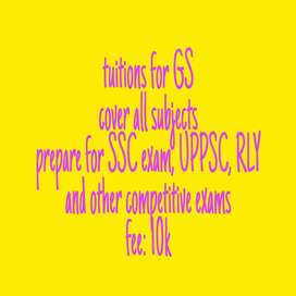 SSC,UPSC, RLY /   school:Chem, bio, phy , Eng - 8th - 12th