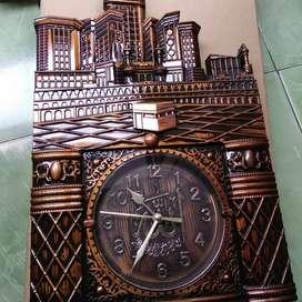 Jam Dinding kaligrafi masjid Nagoya 5778 sweep