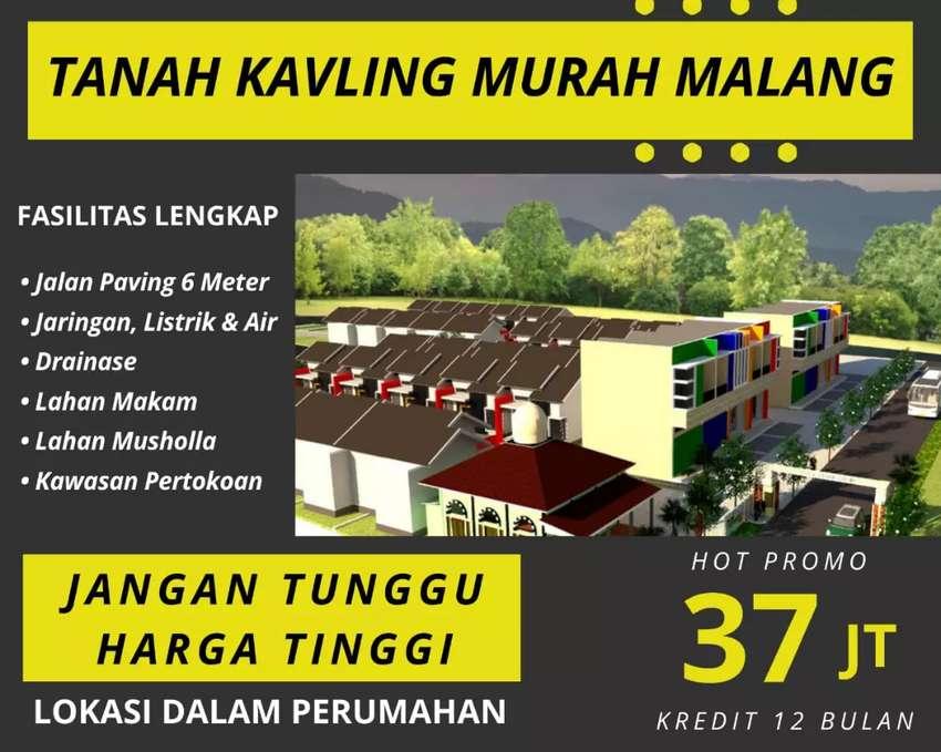 Kavling Rumah Subsidi 500rb/m, Dekat Univ Kanjuruhan-Cakrawala Malang 0
