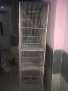 12portion cage for birds
