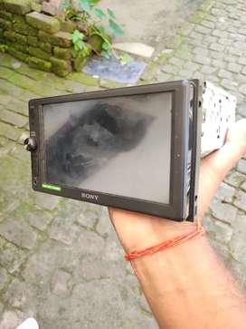 Sony xav ax100 music player