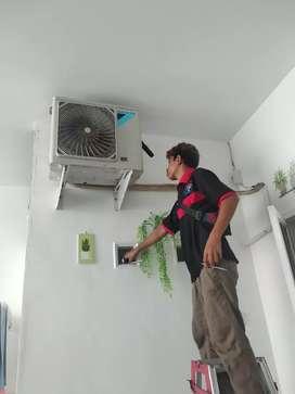 Asdar teknik melayani jasa bongkar pasang AC pemasangan AC perbaikan
