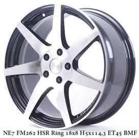 Velg baru hsr NE7 FM262 HSR R18X8 H5X114,3 ET45 BMF