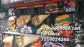 Branded Food cart at Kowdiar for Lease @135000 ( Refundable )