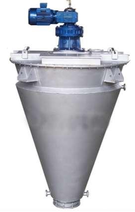 Mixer Cone Double Screw Mixer , Ribbon Screw Buatan Indonesia