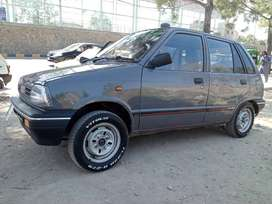 Suzuki mehran model 1992 Lahore number