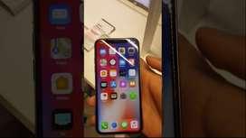 Iphone x 64 gb white colour saaf set battery 83