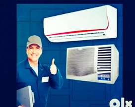 450 rupees        Ac  repairing work at  your door step services