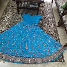Beautiful blue lehnga for sale