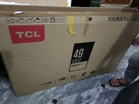 read discription first TCL LED ANDROID JUST LIKE NEW 49 inches