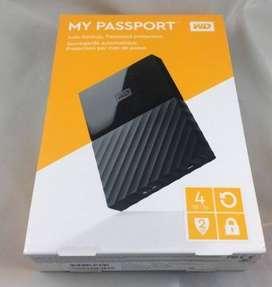 ARDDISK EXTERNAL 4TB WD MY PASSPORT TERMURAH