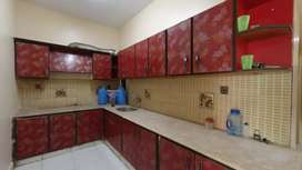 3 bed drawing dining flat at nazimabad 3 with car parking