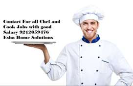 Chef required Tandoor/Chinese/Indian