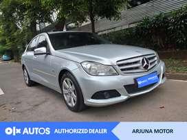 [OLX Autos] Mercedes Benz 2012 C200 1.8 A/T Bensin Silver #Arjuna Moto