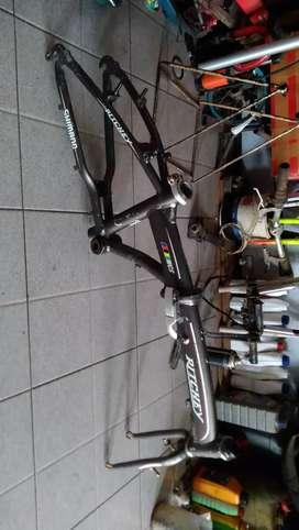 Frame dan fork sepeda lipat ritchey alloy